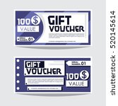 template voucher | Shutterstock .eps vector #520145614