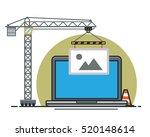 website construction concept ... | Shutterstock .eps vector #520148614