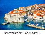 Dubrovnik  Croatia. Picturesqu...