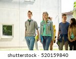education  high school ... | Shutterstock . vector #520159840