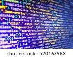 database bits access stream... | Shutterstock . vector #520163983