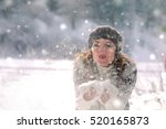 Winter Portrait. Young...
