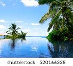 palms hotel sea  | Shutterstock . vector #520166338