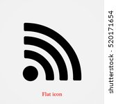 podcast icon  vector best flat... | Shutterstock .eps vector #520171654