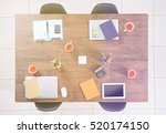 modern workplace at office | Shutterstock . vector #520174150