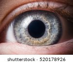 human eye close up | Shutterstock . vector #520178926