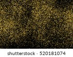 gold glitter texture isolated... | Shutterstock .eps vector #520181074