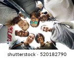 people friendship togetherness... | Shutterstock . vector #520182790