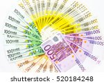 Euro Banknote Money Finance...