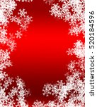snowflake background | Shutterstock . vector #520184596