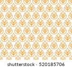 Wheat Ears Seamless Pattern....