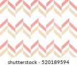 watercolor light pink and beige ... | Shutterstock . vector #520189594