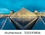 paris  france   november 21 ... | Shutterstock . vector #520193806