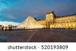 paris  france   november 21 ... | Shutterstock . vector #520193809