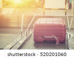 luggage at point of checking... | Shutterstock . vector #520201060