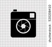 Camera    Black Vector Icon