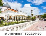 The Kapitan Keling mosque (masjid) in the heart of Georgetown in Penang, Malaysia