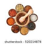 composition with different... | Shutterstock . vector #520214878
