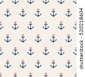Nautical Seamless Pattern...