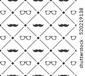 seamless pattern background... | Shutterstock .eps vector #520219138