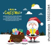 Santa Clauses Set For Christma...