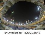 mecca  s.arabia circa feb 2012  ... | Shutterstock . vector #520223548