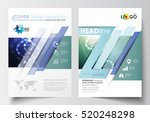 templates for brochure ... | Shutterstock .eps vector #520248298