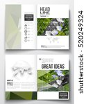 set of business templates for... | Shutterstock .eps vector #520249324