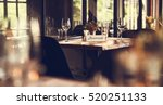 restaurant chilling out classy... | Shutterstock . vector #520251133