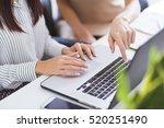 women working in office | Shutterstock . vector #520251490