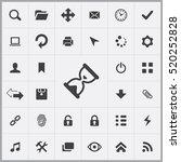 app icons universal set for web ... | Shutterstock .eps vector #520252828
