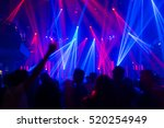 effects blur concert disco dj... | Shutterstock . vector #520254949
