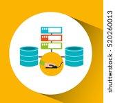 development app technology data ... | Shutterstock .eps vector #520260013