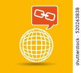 global web network link web... | Shutterstock .eps vector #520263838