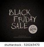 black friday sale banner | Shutterstock .eps vector #520265470
