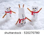 happy funny marshmallow... | Shutterstock . vector #520270780