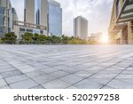 empty floor with modern... | Shutterstock . vector #520297258