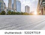 empty floor with modern... | Shutterstock . vector #520297519