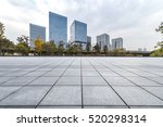 empty floor with modern... | Shutterstock . vector #520298314
