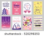collection of flat design... | Shutterstock .eps vector #520298353