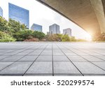 empty floor with modern... | Shutterstock . vector #520299574
