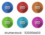 set of vector icons. colorful... | Shutterstock .eps vector #520306603