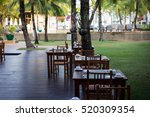 beautiful luxury restaurant... | Shutterstock . vector #520309354