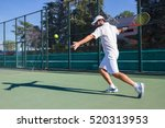 professional tennis player... | Shutterstock . vector #520313953