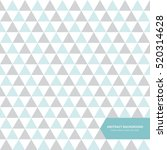 abstract blue triangle... | Shutterstock .eps vector #520314628