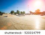 skating skate park skatepark... | Shutterstock . vector #520314799