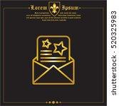 web line icon. christmas...   Shutterstock .eps vector #520325983
