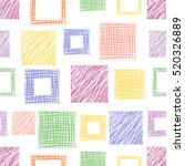 seamless vector  geometrical... | Shutterstock .eps vector #520326889
