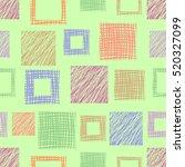seamless vector  geometrical... | Shutterstock .eps vector #520327099