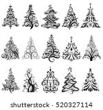 15 designs in one file. to... | Shutterstock .eps vector #520327114